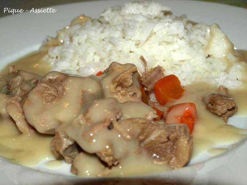 Recettes blanquette de veau traditionnelle - Blanquette de veau recette facile ...