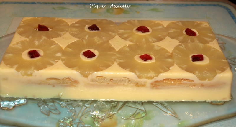 Gateau froid vanille