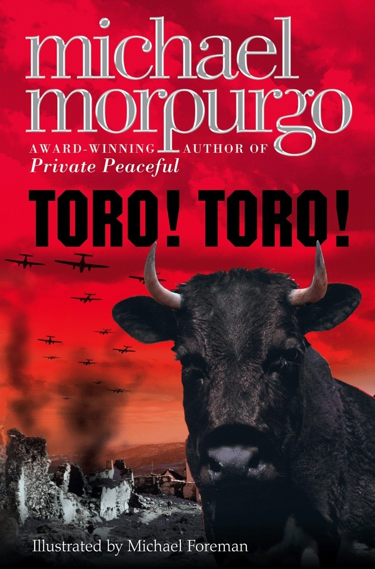 Children S Book Covers Without Titles : Toro michael morpurgo once upon a book