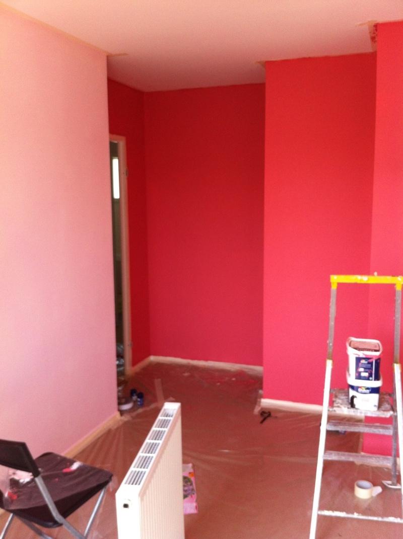 Chambre peinture corail meilleure inspiration pour votre design de maison for Peinture mur chambre fille