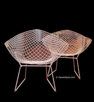 chaise diamant par harry bertoia st roma. Black Bedroom Furniture Sets. Home Design Ideas