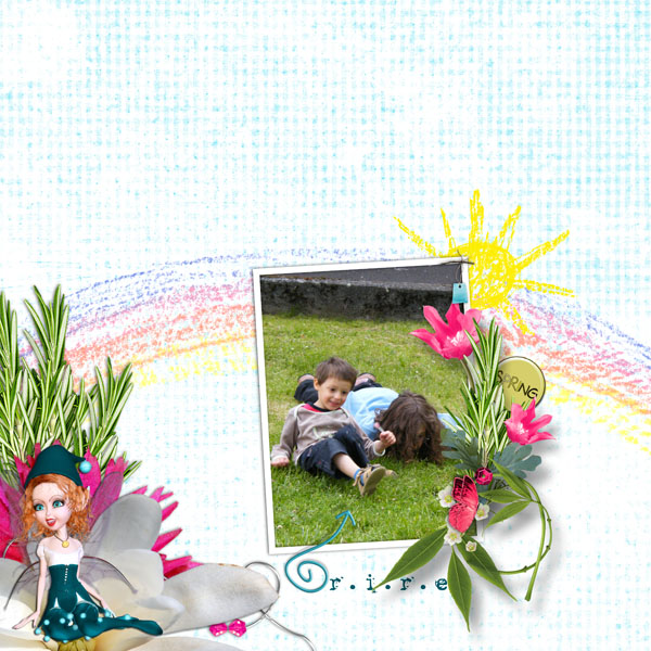 if i was a butterfly kit simplette page LUS