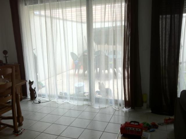 Sandrah51 conseils peinture salon s jour page 2 for Rideau pour baie vitree