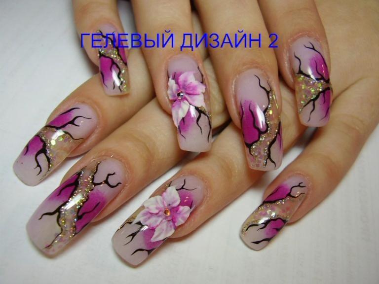 Фото по дизайну гелевых ногтей