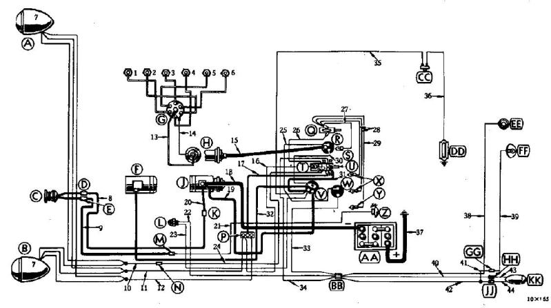 1949 Ford Custom Wiring Diagram on 1946 chevy truck vin number location