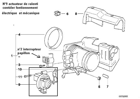 bmw e46 316i m43 1 9l an 2000   ventilation du carter