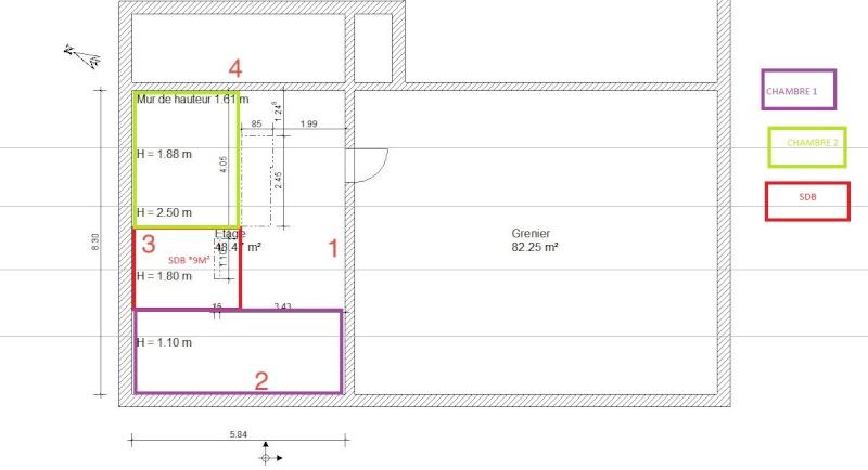 D coration chambre 9m2 of amenager une chambre de 9m2 for Amenager chambre 9m2