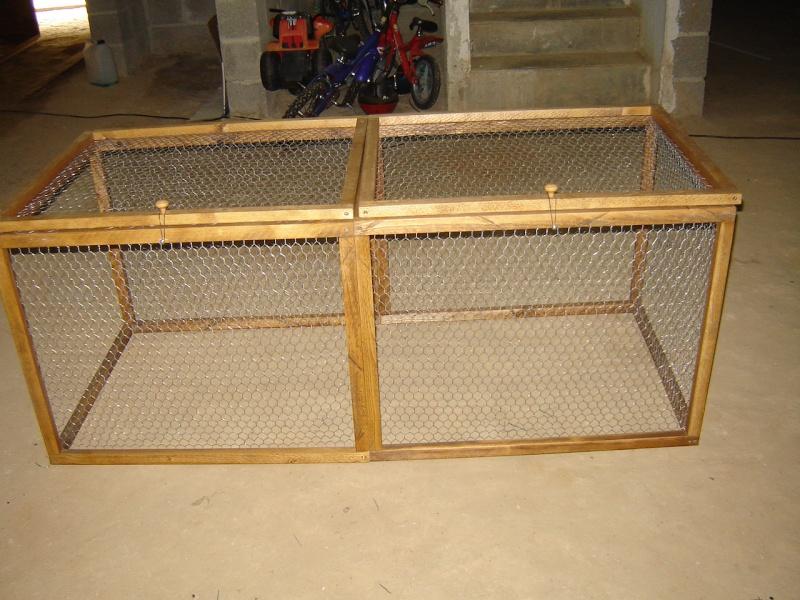 Fabrication d 39 un enclos pour lapin page 3 for Construire une cabane a lapin exterieur