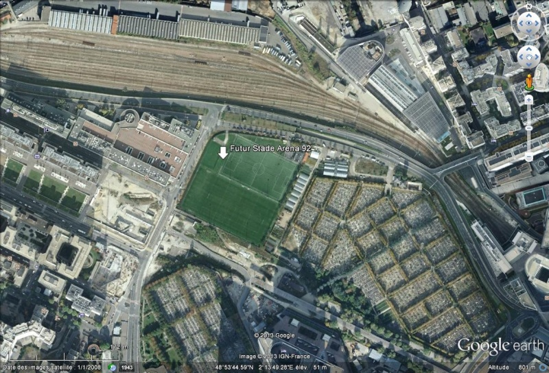 Arena 92 La Défense Nanterre 48°13'46.69''N 2°13'46.69'...