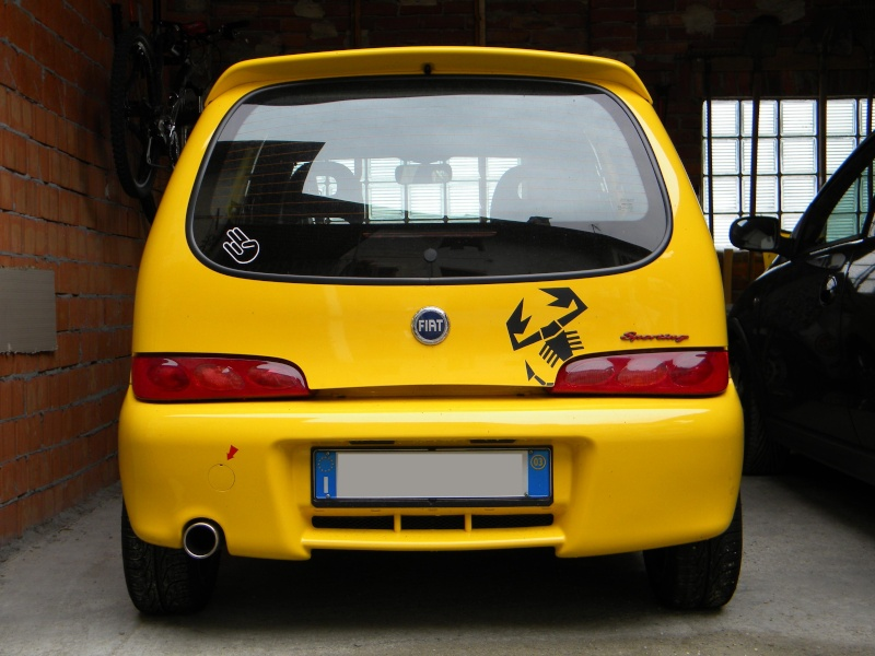 fiat seicento sporting abarth pagina 25. Black Bedroom Furniture Sets. Home Design Ideas