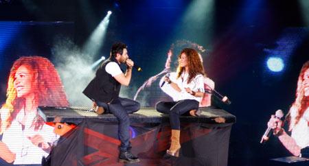 ~*~ حفلة نجم الجيل تـامر حسنى مارينا 17/7/2010~*~ ( فيديو + صور )