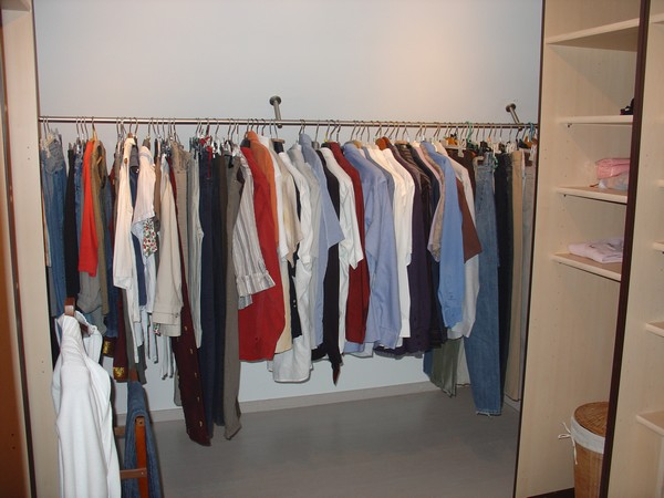 Am nagement de dressing - Tringle rideau pour dressing ...