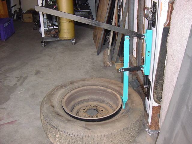 D monte pneu manuel - Fabriquer un decolle pneu ...