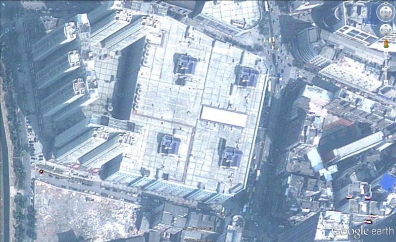 Chine 4 maisons sur le toit d 39 un centre commercial for Acheter une maison en chine