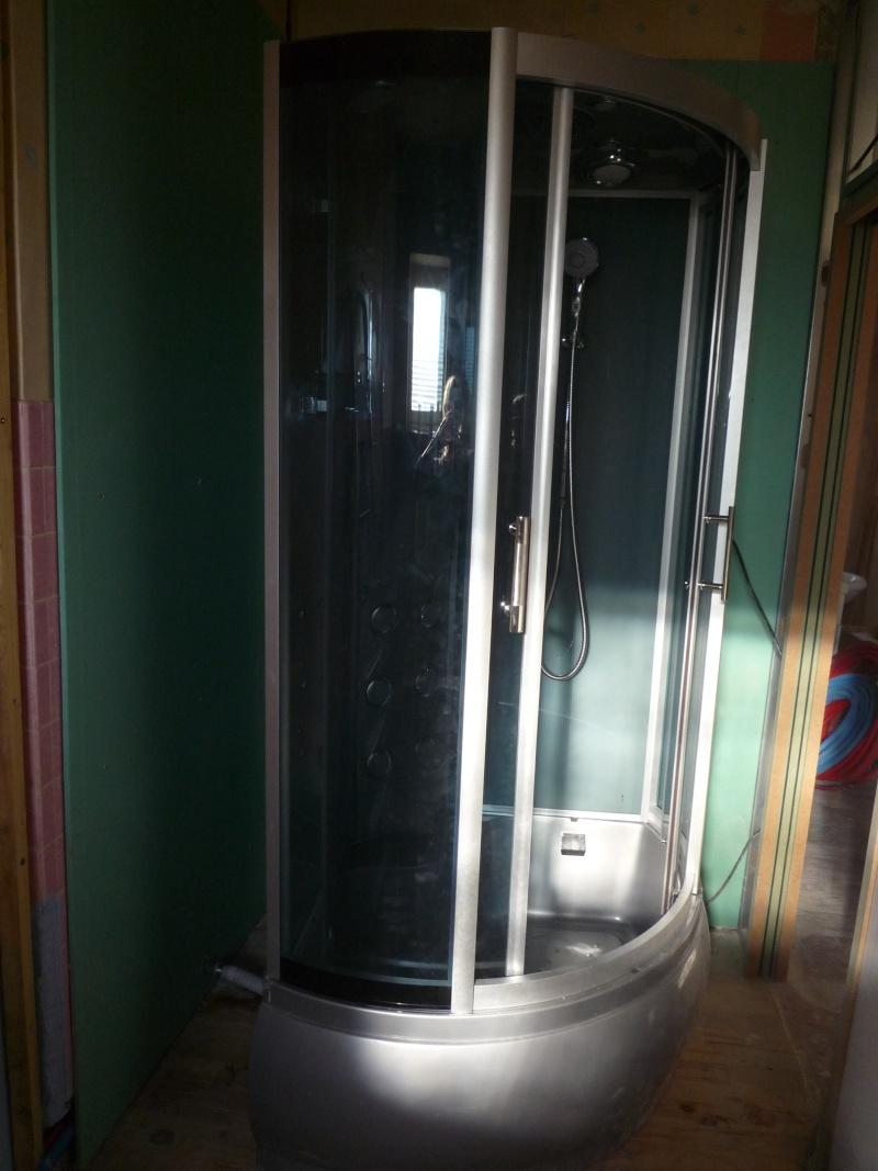 Souci d etancheite d une cabine de douche - Poser une cabine de douche ...