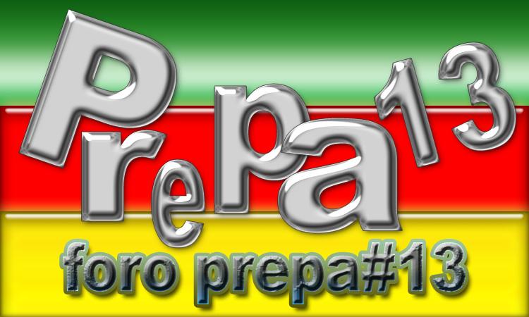 FORO prepa 13