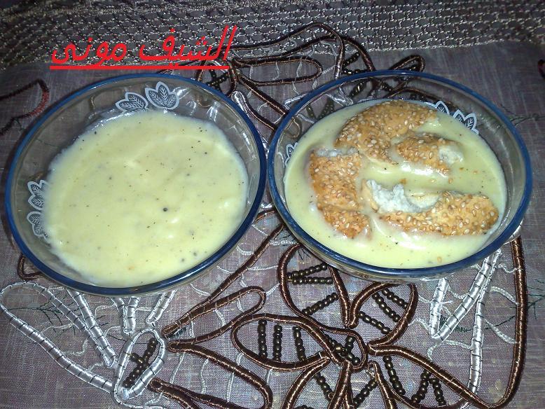 والجبنة والزبدة فى حلة ونحط عليهم اللبن والفلفل الاسود ونشغل