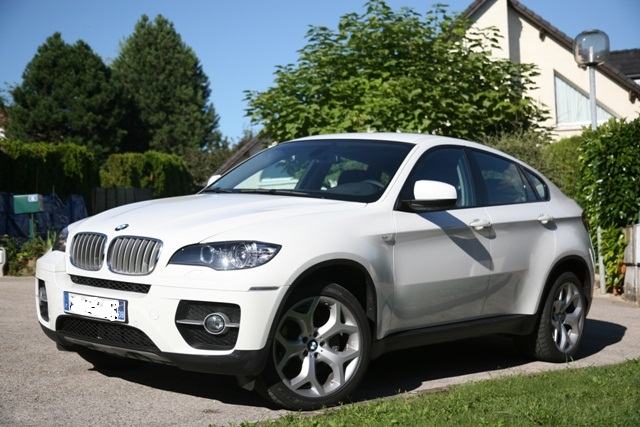 x6 blanc cuir chateau forum bmw