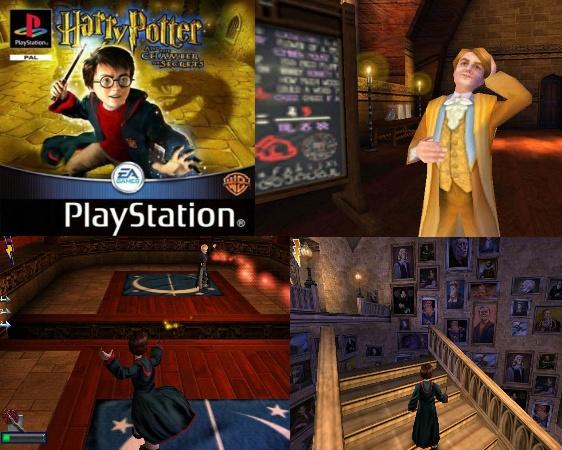 Harry potter et la chambre des secrets ps1 - Harry potter et la chambre des secrets pc download ...