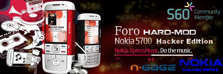 Foro Nokia 5700 Hard-Mod House