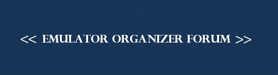 Emulator Organizer Forum