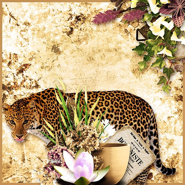 fleurs du mal kit simplette page xuxper