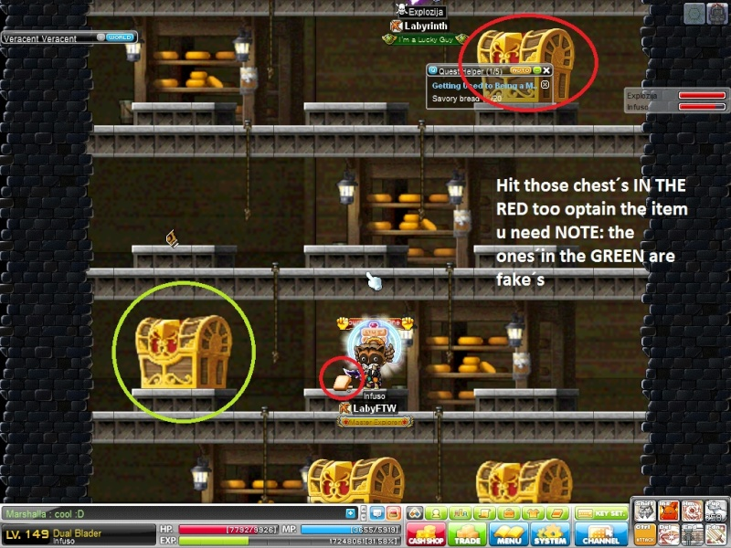 how to get out of veracent maplestory