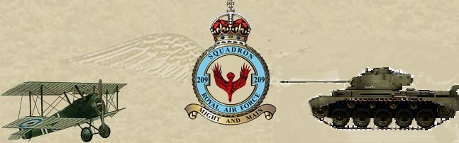 No. 209 Squadron RAF & 209 Royal Armoured Force