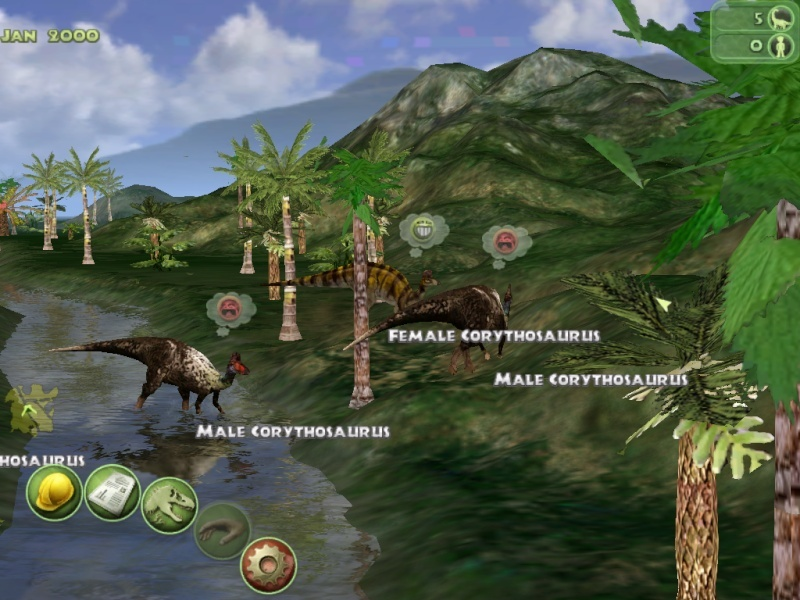 Terrain by PMEP and won t in the packJurassic Park Corythosaurus