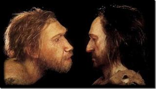 paléoanthropologie - homo sapiens - homo neanderthalensis - droitier - forum - septembre 2012 - Virginie Volpato - Regourdou - David Frayer