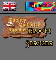 British - Halfblood - Broom Servicer