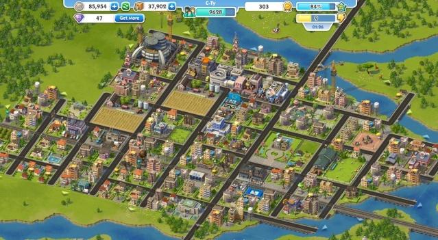 Cityville vs simcity social for Creer une maison jeu