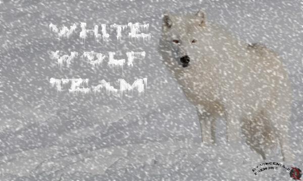 White wolf team