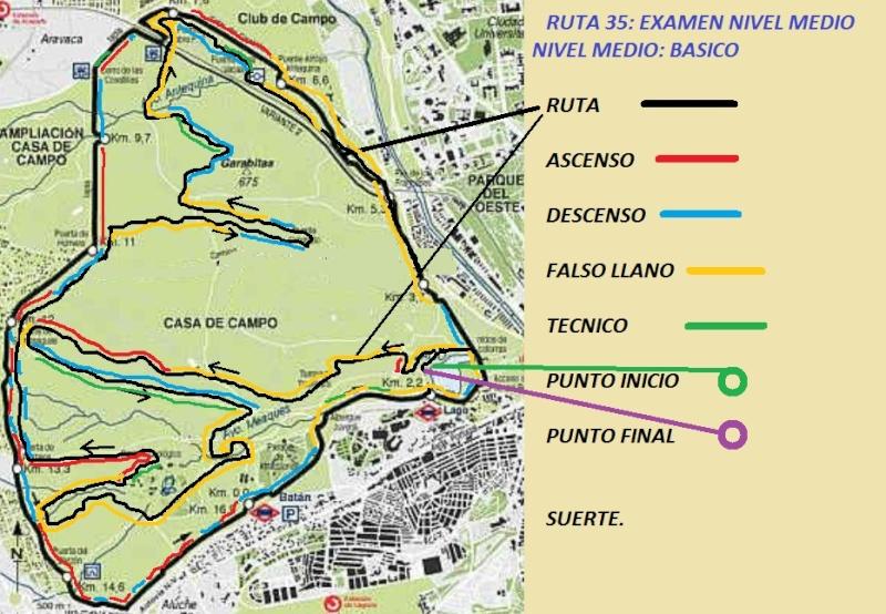 39 ruta perimetro de la casa de campo consejos y - Mapa de la casa de campo ...