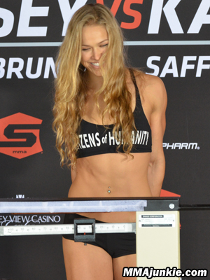 Ronda Rousey Camel Toe (Her Worst Nightmare Has Come True)