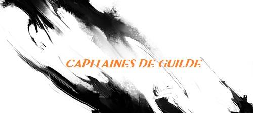 Presentation des capitaines de guilde