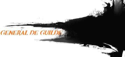 Presentation du général de guilde